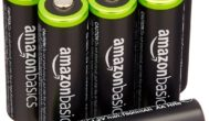 AmazonBasics AA Rechargeable Batteries (8-Pack)