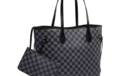 Daisy Rose Checkered Tote Shoulder Bag