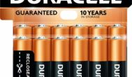 Duracell – CopperTop AA Alkaline Batteries (12 count)
