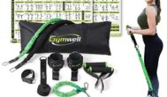 Gymwell Portable Resistance Workout Set with 3 Sets of Resistance Bands