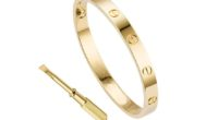 QUEEN JULIA Gold Bracelets for Women Couples Bracelets