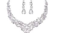 Bridal Austrian Crystal Necklace and Earrings