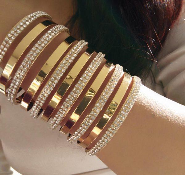 Gold Plated Bracelet IC20B