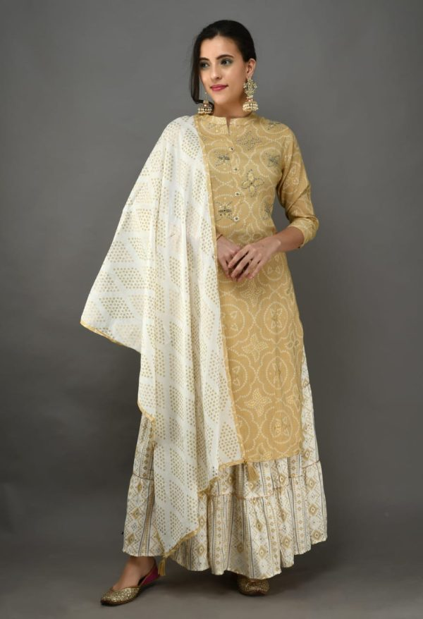 Ready made rayon cotton kurti