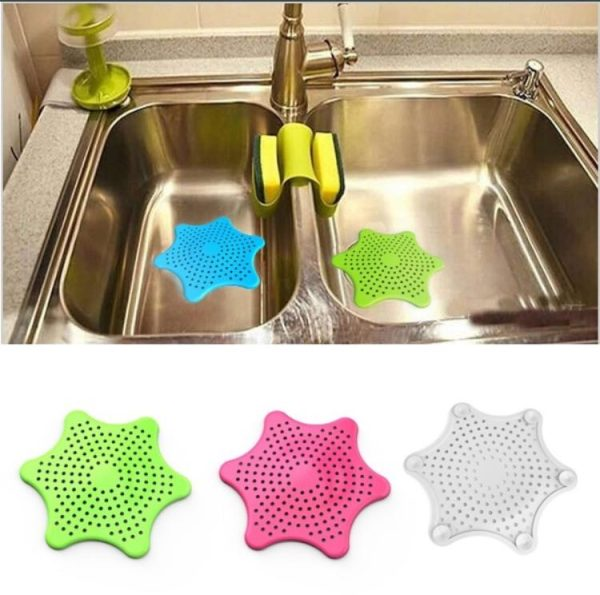 STARFISH HAIR CATCHER for smooth drainage