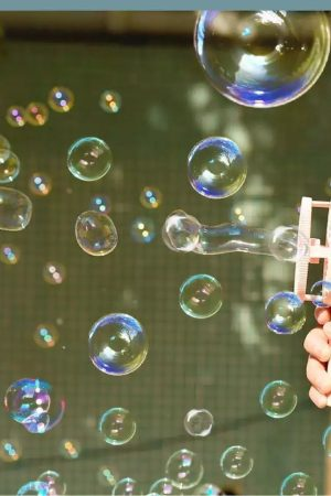 Bubble Machine Fan