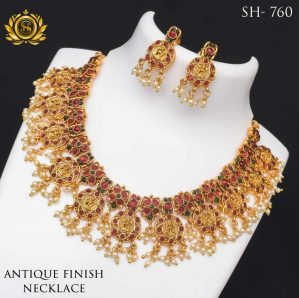 Premium Quality Antique Finish Necklace