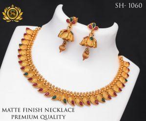 Premium Quality Mate Finish Necklace