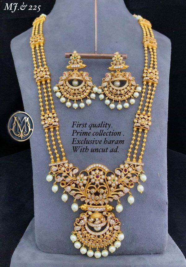 Premium Quality Long Haram with uncut AD MJ225