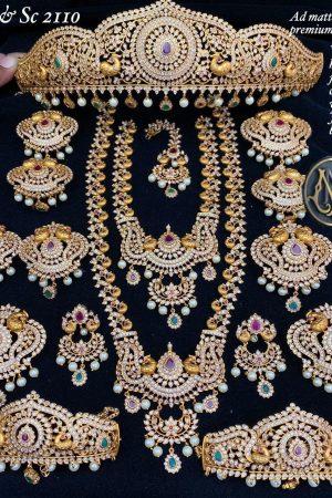 Indian Bridal Jewellery with Choti, Wangi and Billa