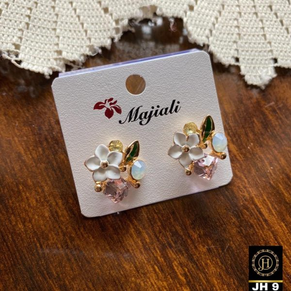 Cute Tiny Floral Stud Earrings