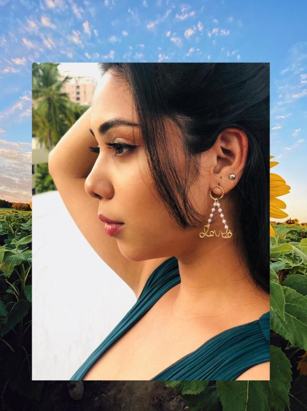 Indian woman's romance with Statement Jewelleries