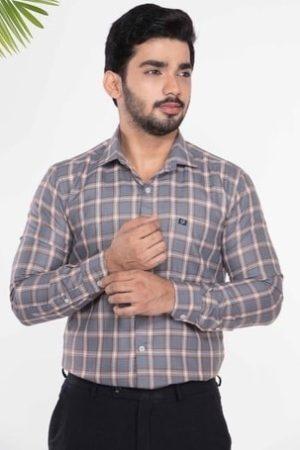 Casual Wear Checks Men's Cotton Check Shirt