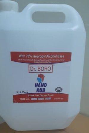 Dr BORO Hand Sanitizer 5L Pack