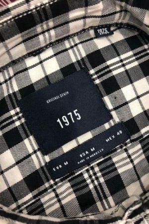 Zara Man Cotton Black & White Men's Check Shirts