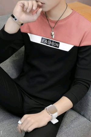 Men Active Tshirt Double colour