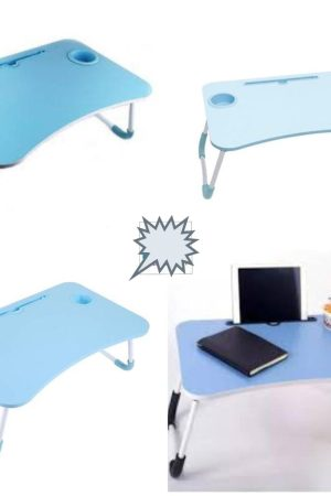 Foldable Laptop Table with Cup Holder