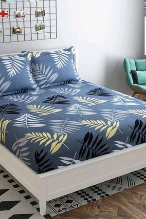 King Fitted bedsheet with elastic