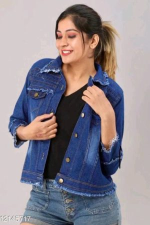 Trendy Fashionista Women Jackets & Waistcoat