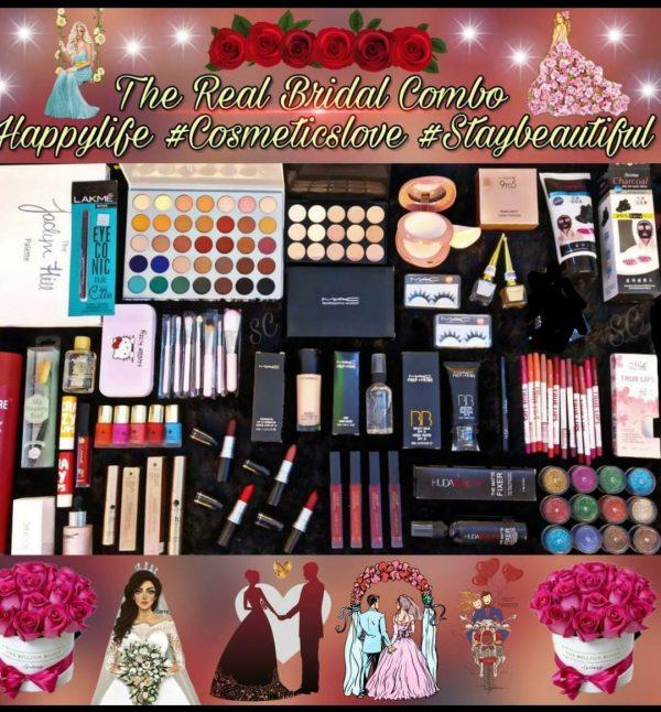 Best Real Bridal Combo Makeup Set