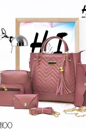 JIMMY CHOO Hand Bags for Women Set of 5