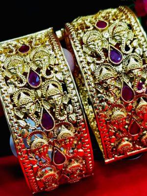 Premium Quality Brass Plated Bangles 001