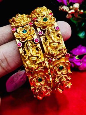 Multicolour Lotus Bangle
