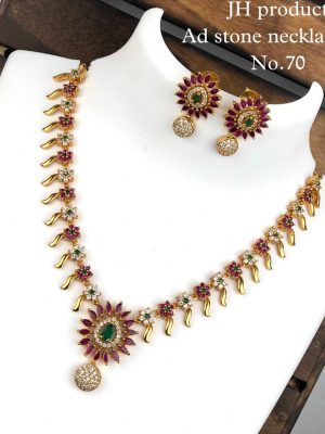 Ad Stone Necklace Set MN70 (2)