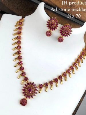 Ad Stone Necklace Set MN70 (3)