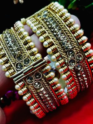 Premium Quality Gold Plated Bangles 002