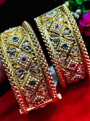 Premium Quality Gold Plated bangle 004