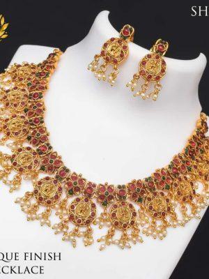 Premium Quality Antique Finish Necklace