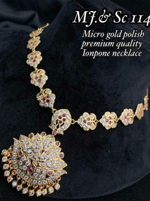 Micro Gols Polish Premium Quality Ionpone Necklace (1)