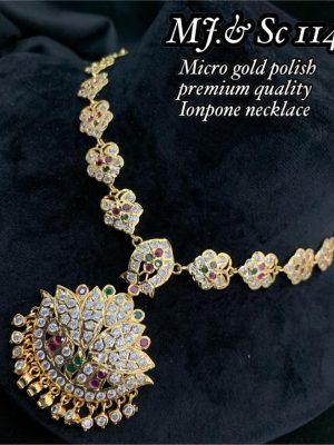 Micro Gols Polish Premium Quality Ionpone Necklace (3)