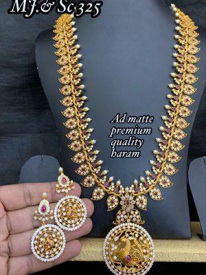 Premium Quality AD Stone Long Haram MN325 (3)