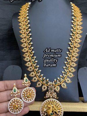 Premium Quality AD Stone Long Haram MN325 (4)