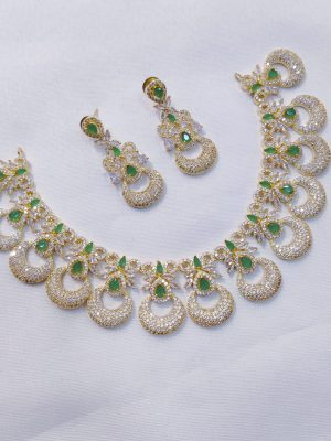 Traditional AD Stone Necklace with Earrings145 (8)